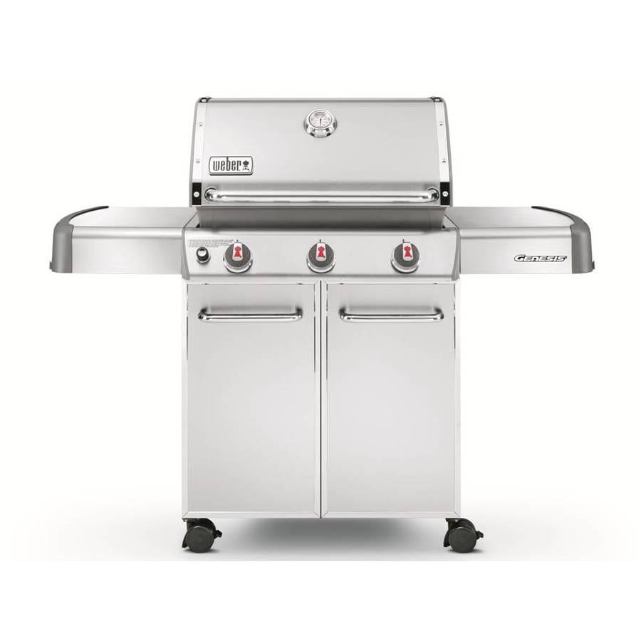 Weber Genesis S-310 Stainless Steel 3-Burner (38,000-BTU) Natural Gas Grill