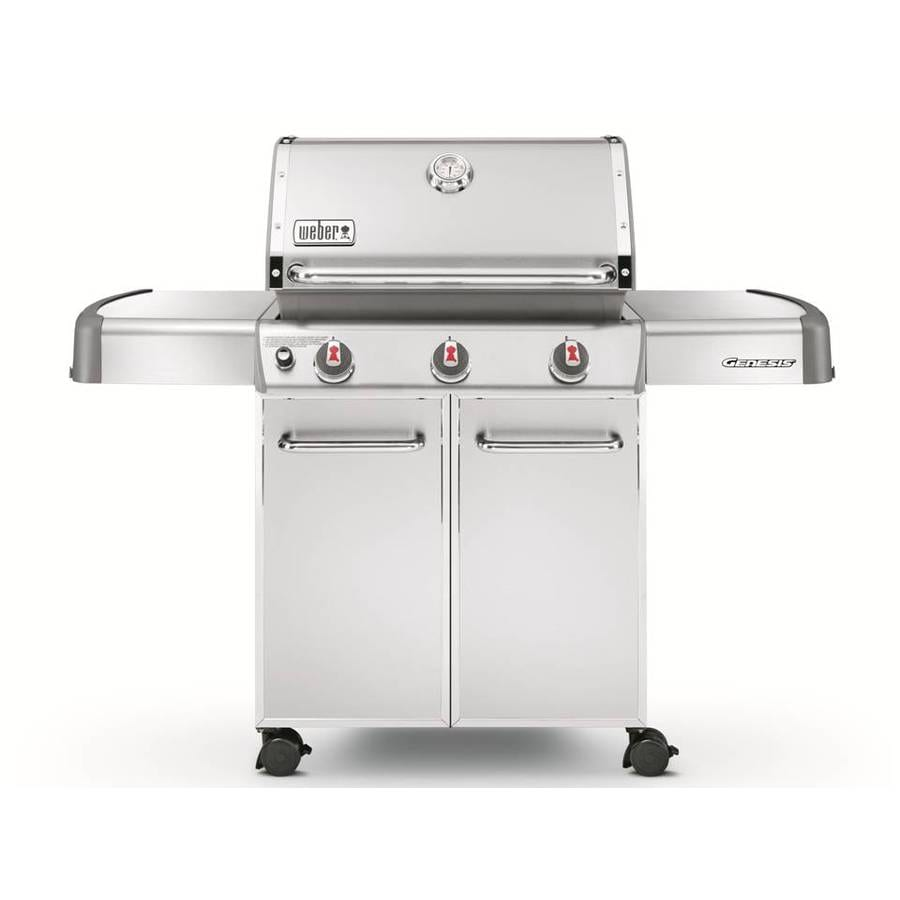 Weber Genesis S-310 Stainless Steel 3-Burner (38,000-BTU) Liquid Propane Gas Grill
