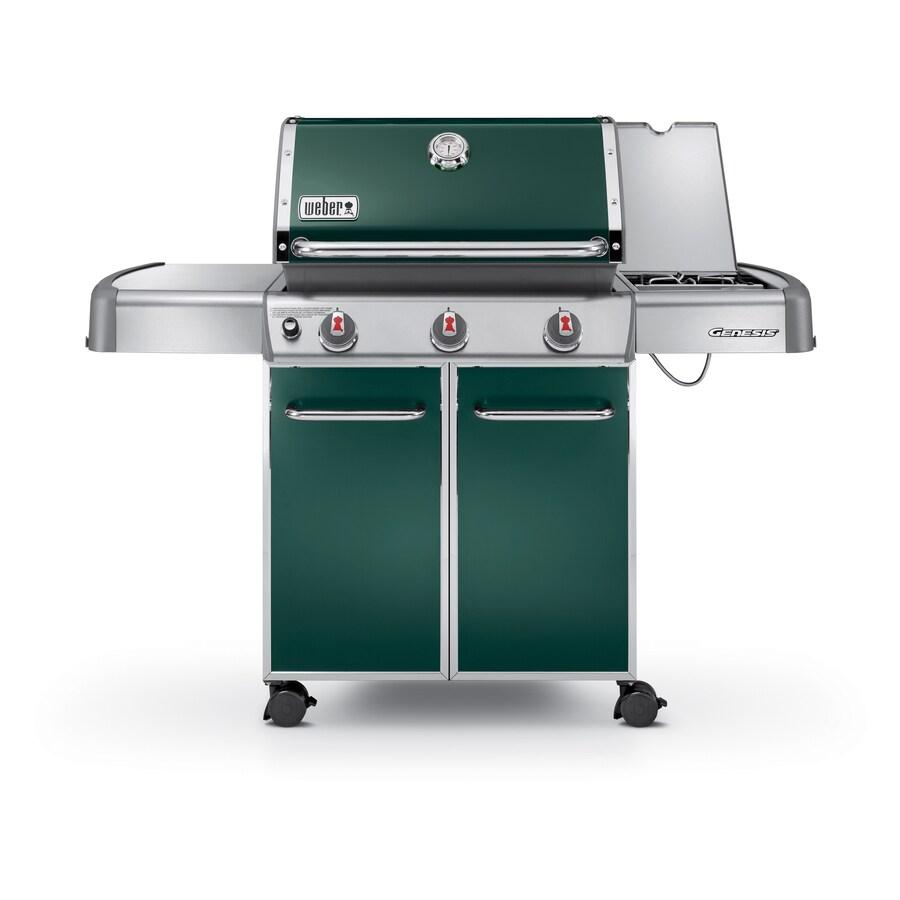 Weber Genesis E-320 3-Burner Green Gas Grill