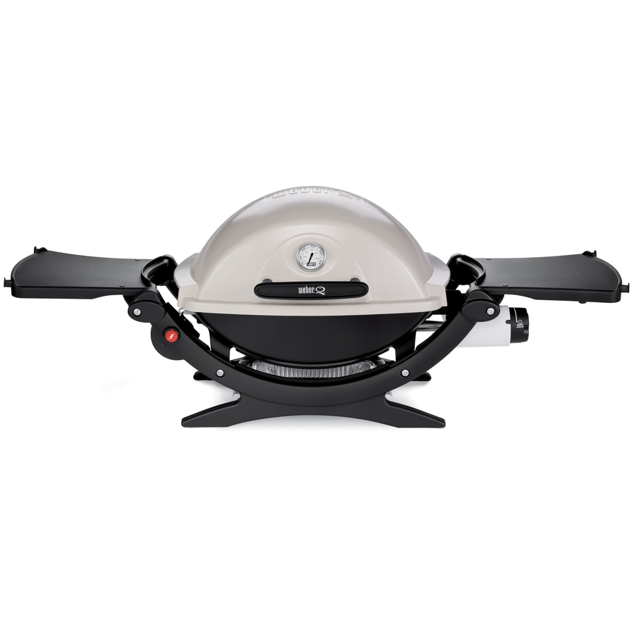 Weber Q Series Titanium 8,500-BTU Portable Gas Grill