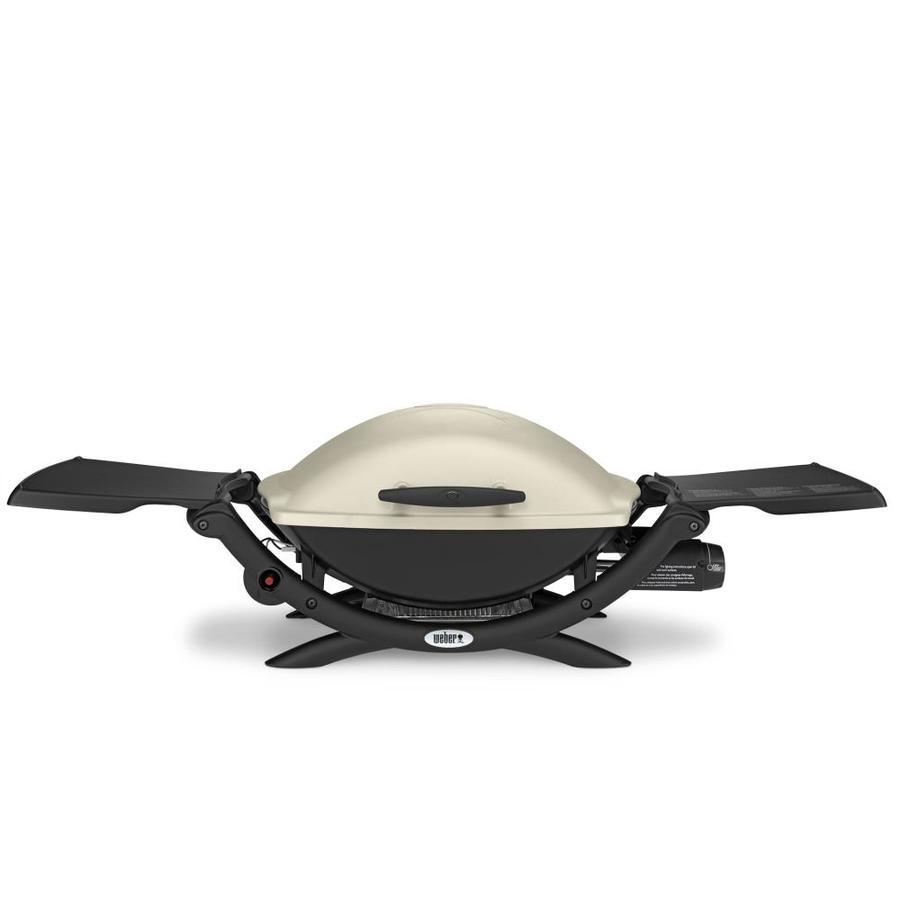 Weber Q 2000 Titanium 12,000-BTU 280-sq in Portable Gas Grill