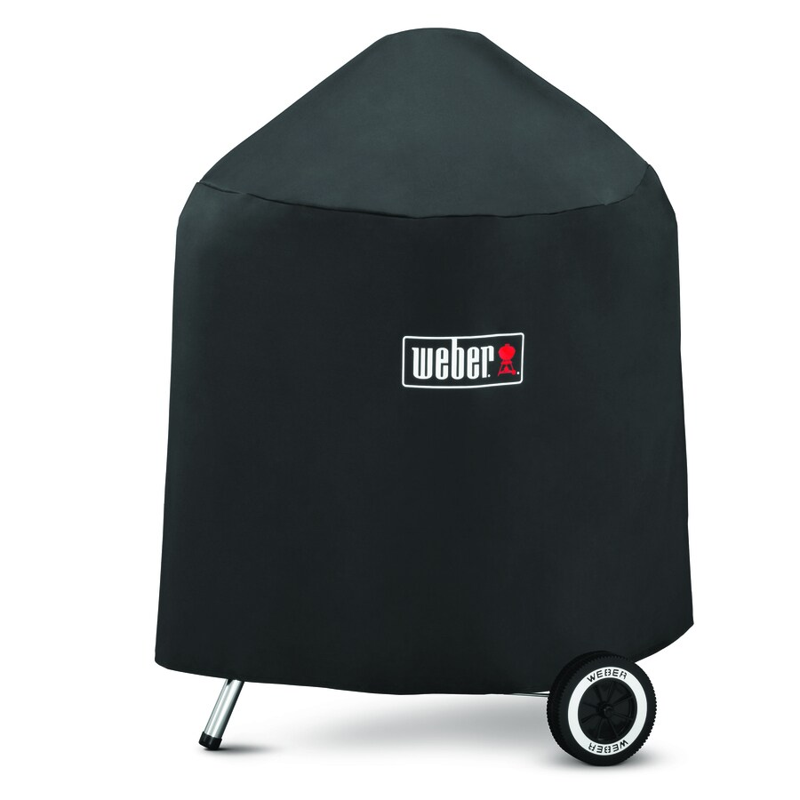 Weber Black Polyester Polyester 36-in Cover