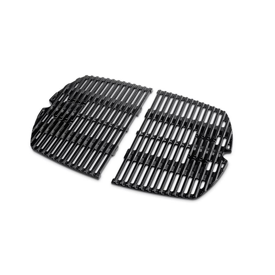 Weber 8-Pack Rectangle Porcelain-coated Cast Iron Cooking Grate