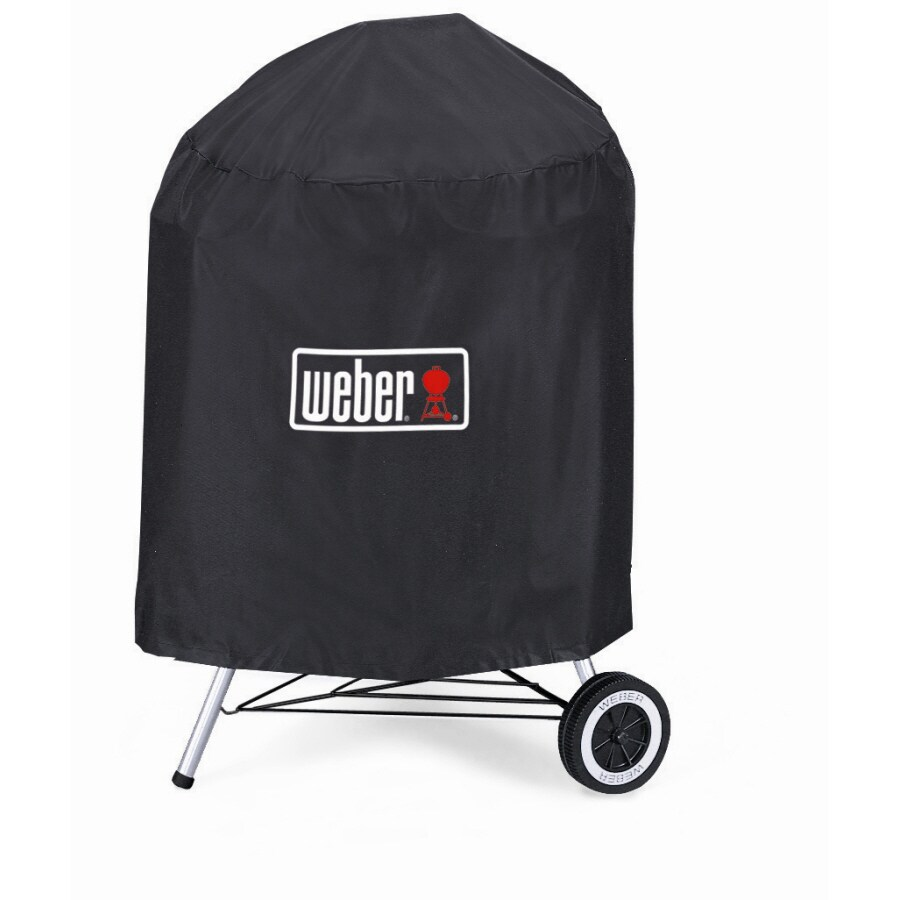 Weber Vinyl 24-in Charcoal Kettle Grill Cover
