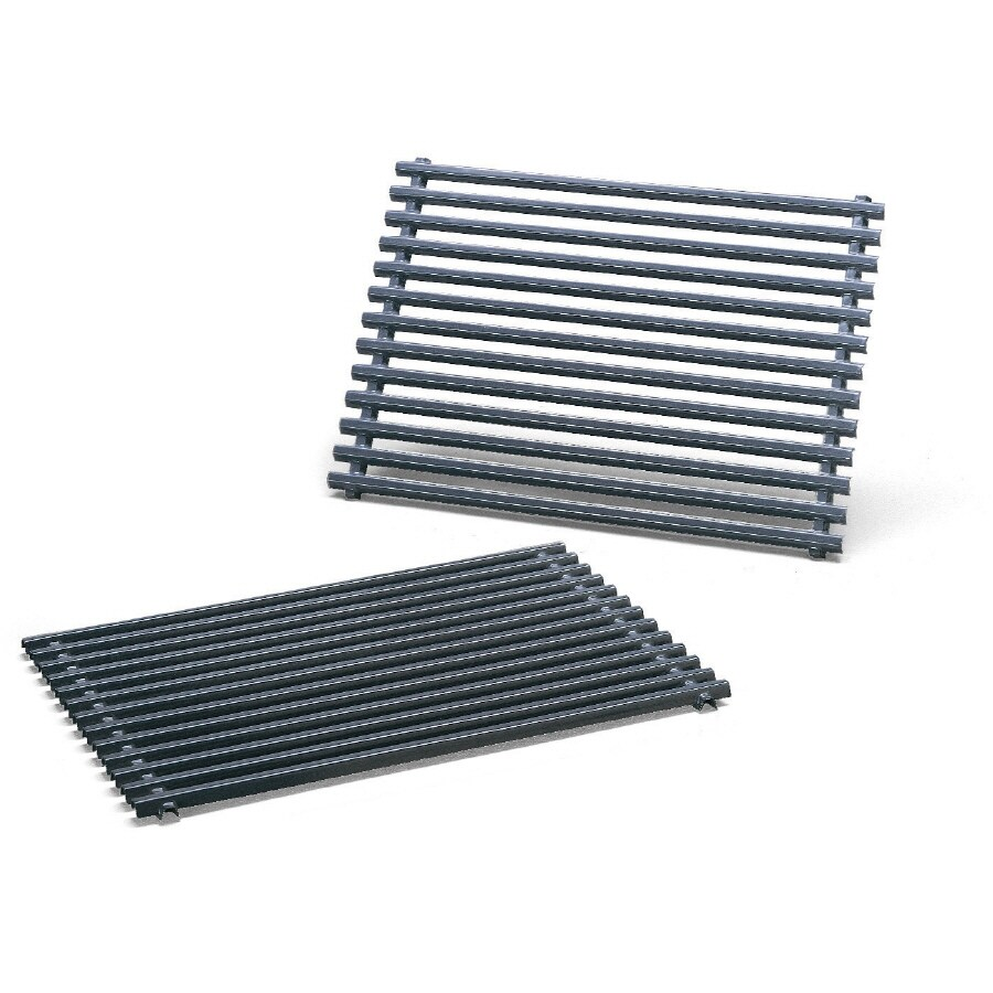 Weber 2-Pack Rectangle Porcelain-Coated Steel Cooking Grate