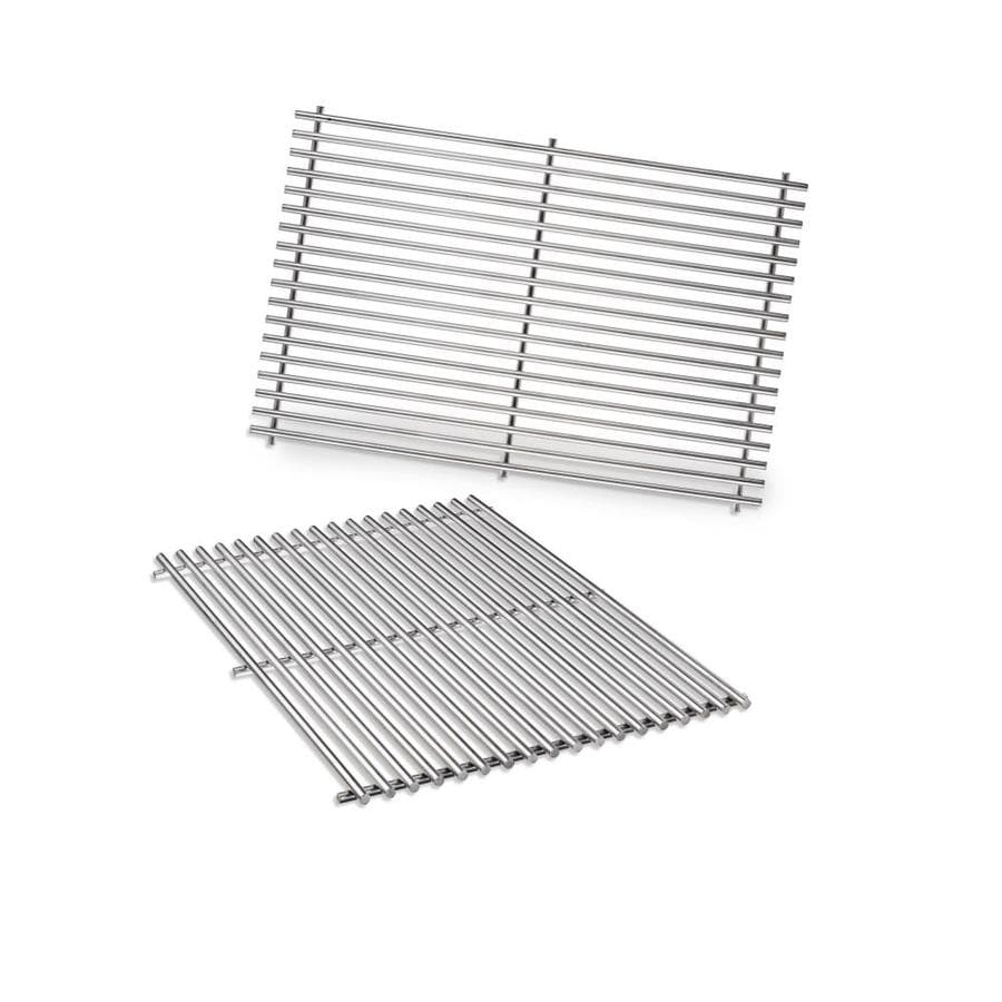 Weber 2-Pack Rectangle Stainless Steel Cooking Grate