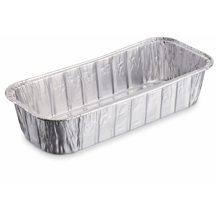 Weber 10-Pack 11-in L x 5-in W Disposable Aluminum Foil Grill Drip Pan
