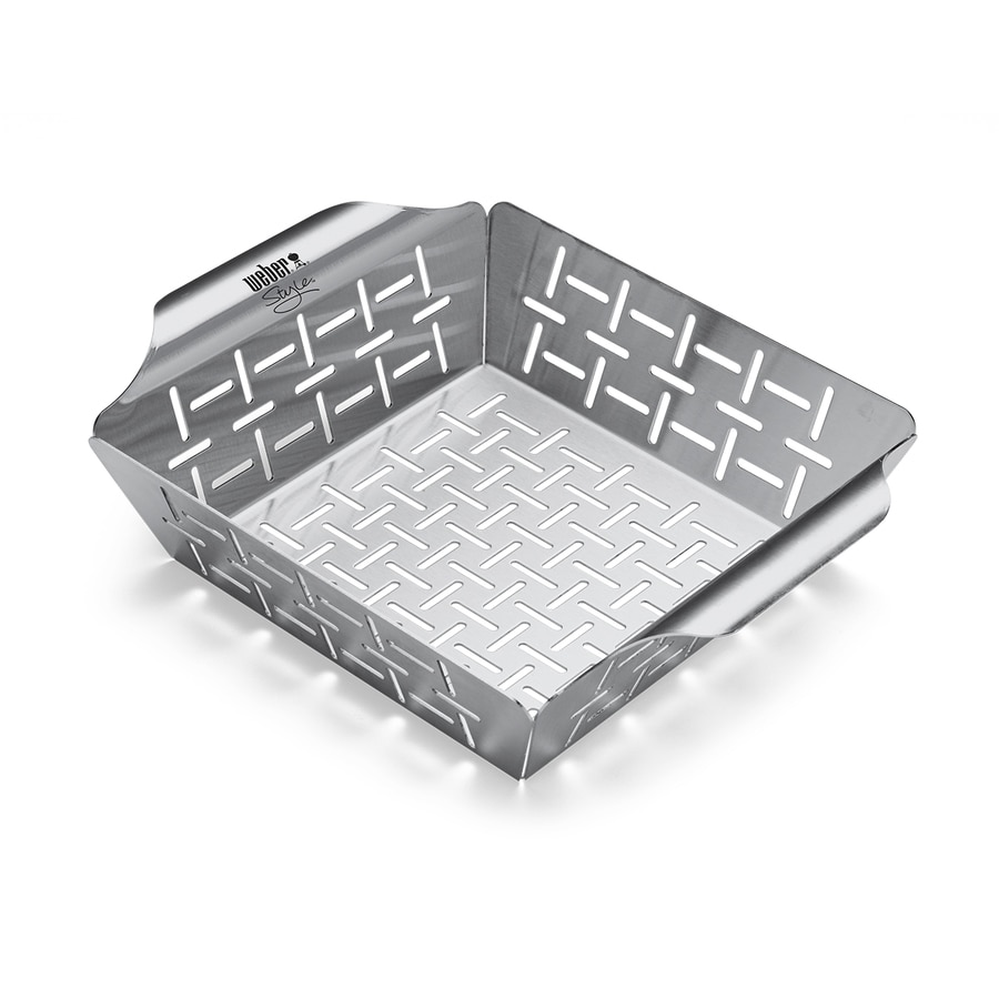 Weber Style Stainless Steel Grill Basket