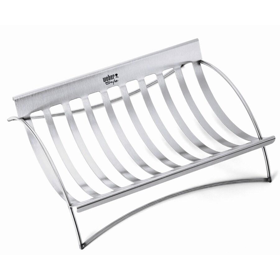 Weber Style Roaster/Rib Rack