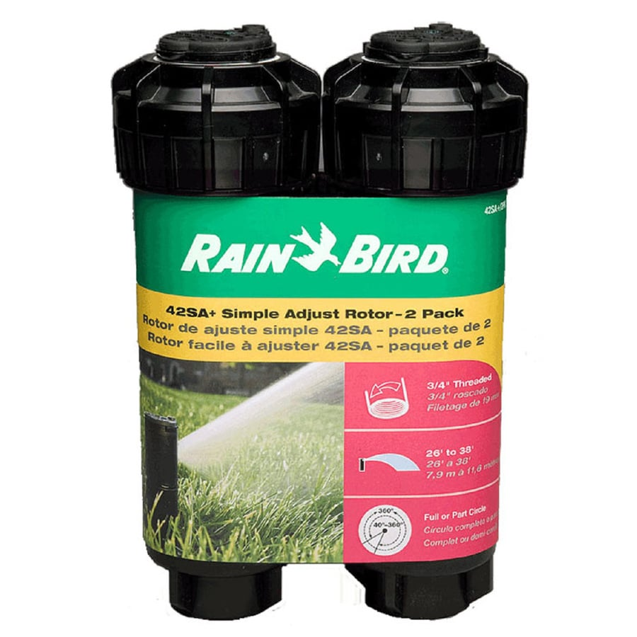 Rain Bird 2-Pack 4-in Plastic Gear Drive Sprinkler