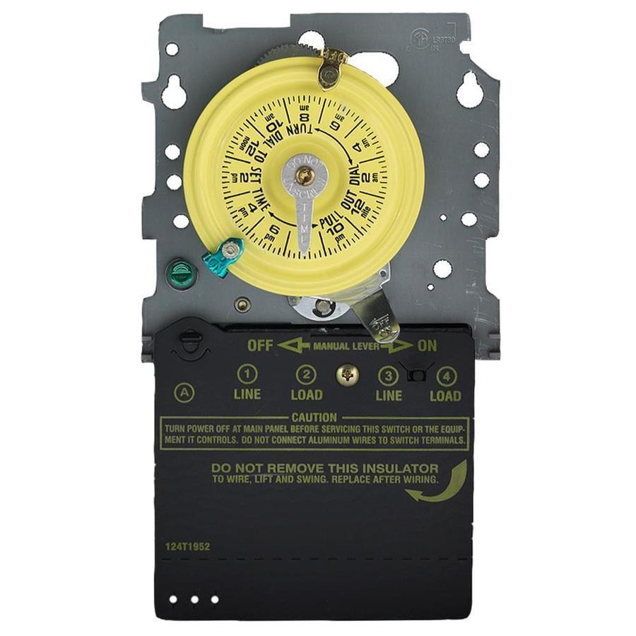 Intermatic 40-Amp Mechanical Residential Hardwired Lighting Timer