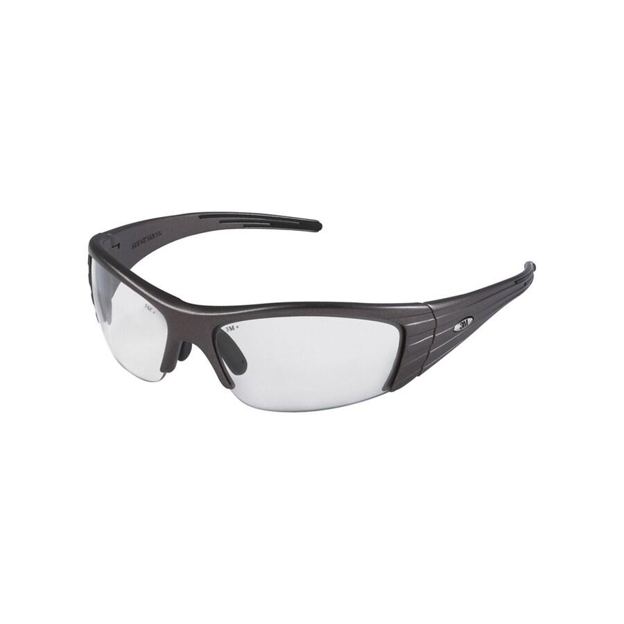 3M Gray Plastic Fuel X2 Safety Glasses