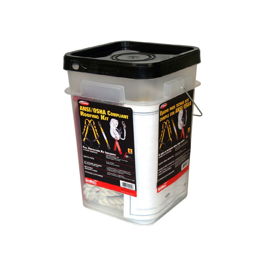 3M ANSI/OSHA Compliance Roofer's Fall Protection Kit