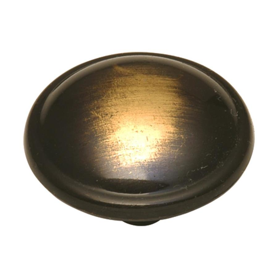 Style Selections Cavalier Antique Brass Round Cabinet Knob