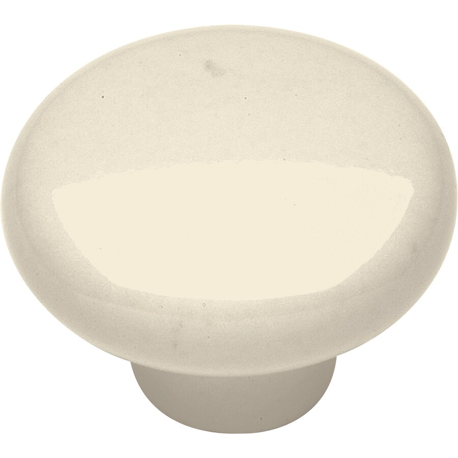 Hickory Hardware Tranquility Light Almond Round Cabinet Knob