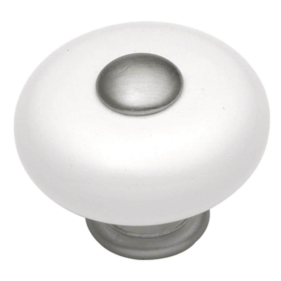 Hickory Hardware Tranquility Satin Nickel Round Cabinet Knob