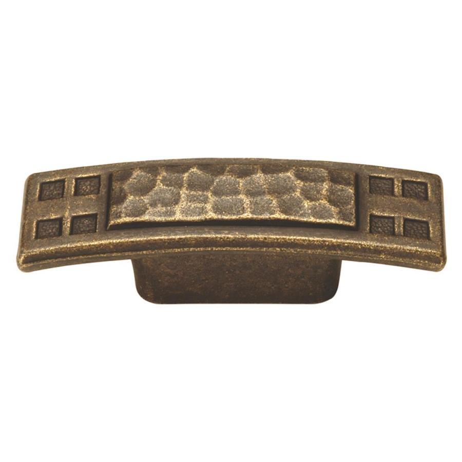 Hickory Hardware Arts and Crafts Windover Antique Rectangular Cabinet Knob