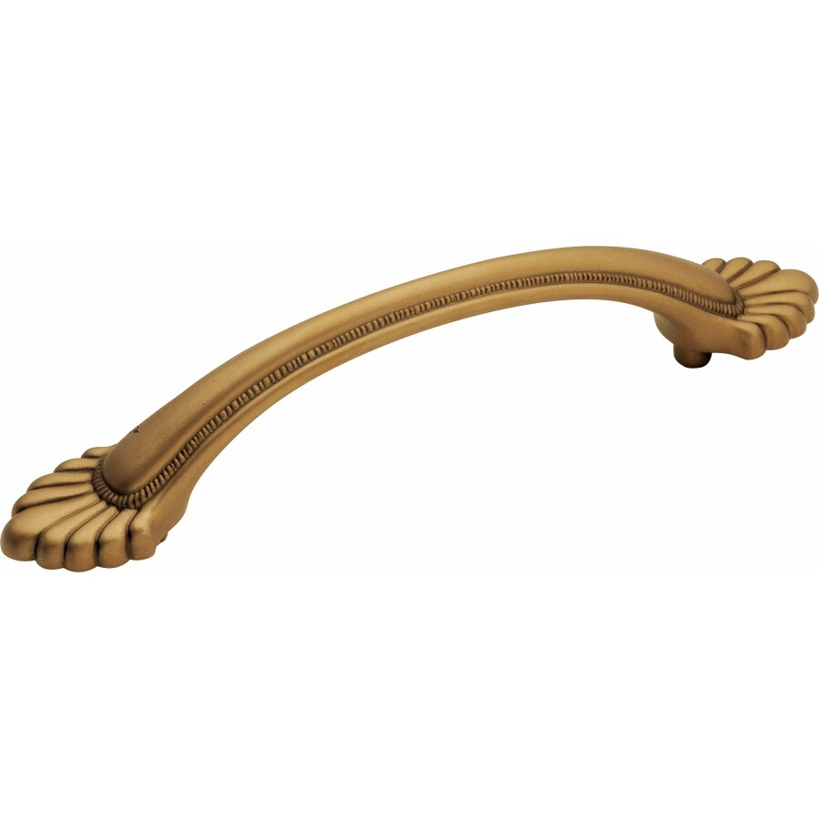 Hickory Hardware 96mm Center-to-Center Wellington Brass Kensington Bar Cabinet Pull
