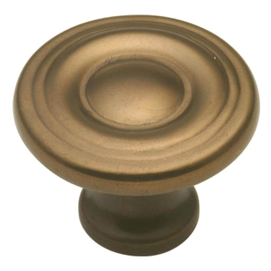 Hickory Hardware Conquest Venetian Bronze Round Cabinet Knob