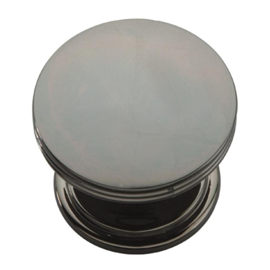 Hickory Hardware American Diner Black-Nickel Vibed Round Cabinet Knob