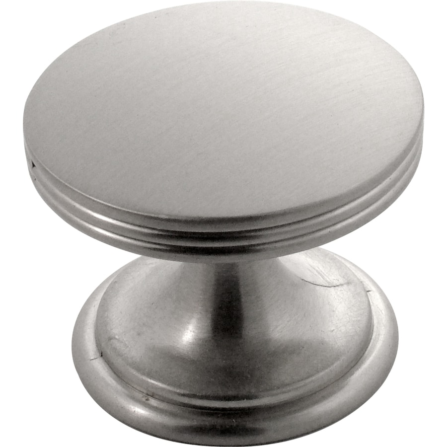 Hickory Hardware American Diner Stainless Steel Round Cabinet Knob