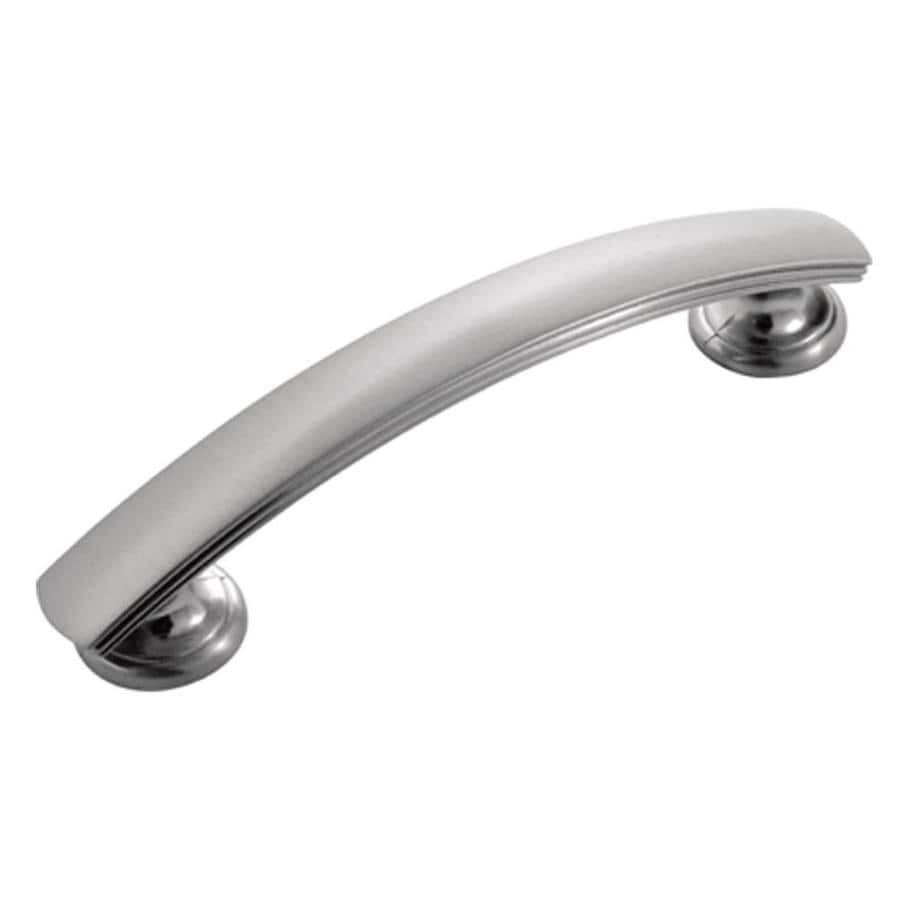 Hickory Hardware 3-in Center-to-Center Stainless Steel American Diner Arched Cabinet Pull