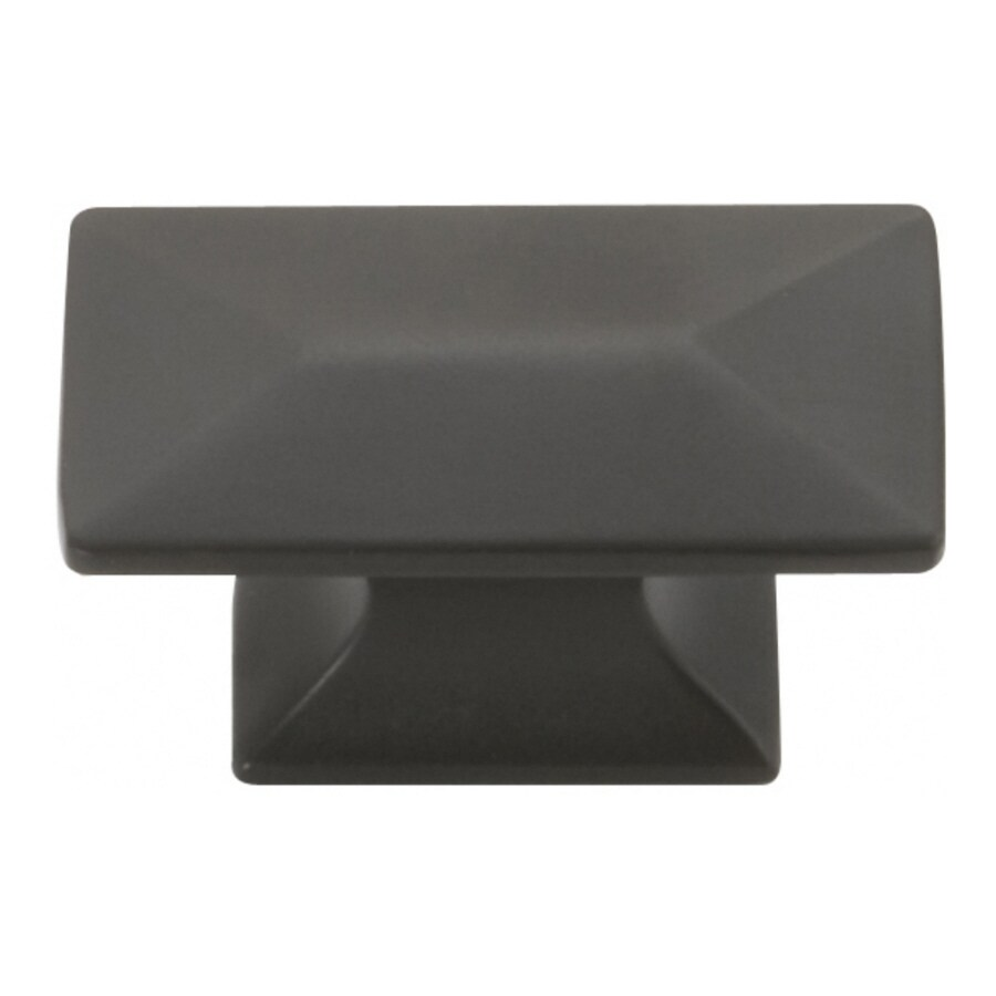 Hickory Hardware Bungalow Oil-Rubbed Bronze Rectangular Cabinet Knob