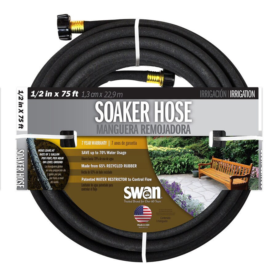SWAN 1/2-in x 75-ft Garden Hose