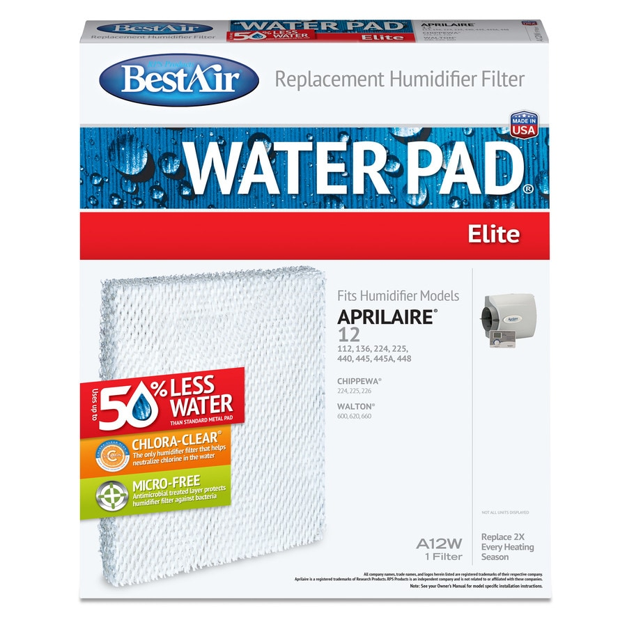BestAir Paper Water Pad Replacement for Aprilaire Humidifier