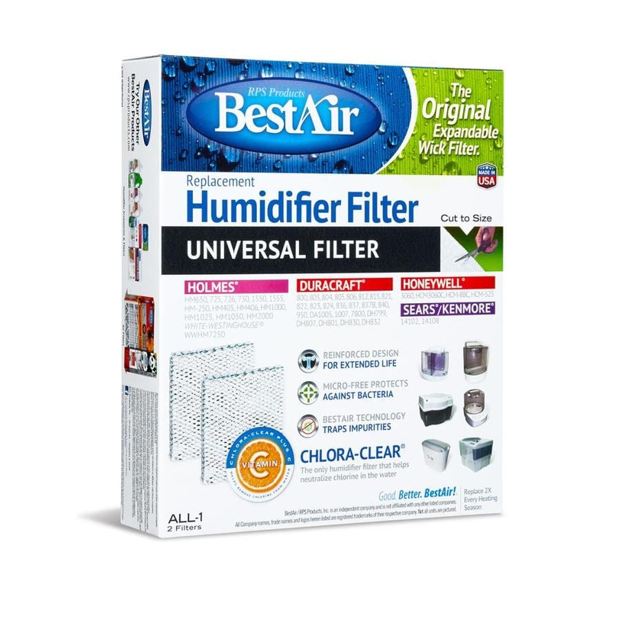 BestAir Universal Wick Filter Fits Duracraft