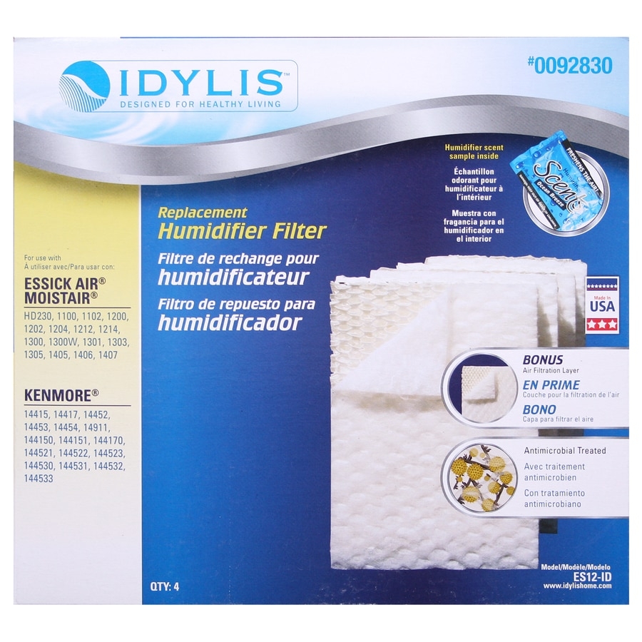 Idylis Portable Humidifier Replacement Filter Fits Emerson