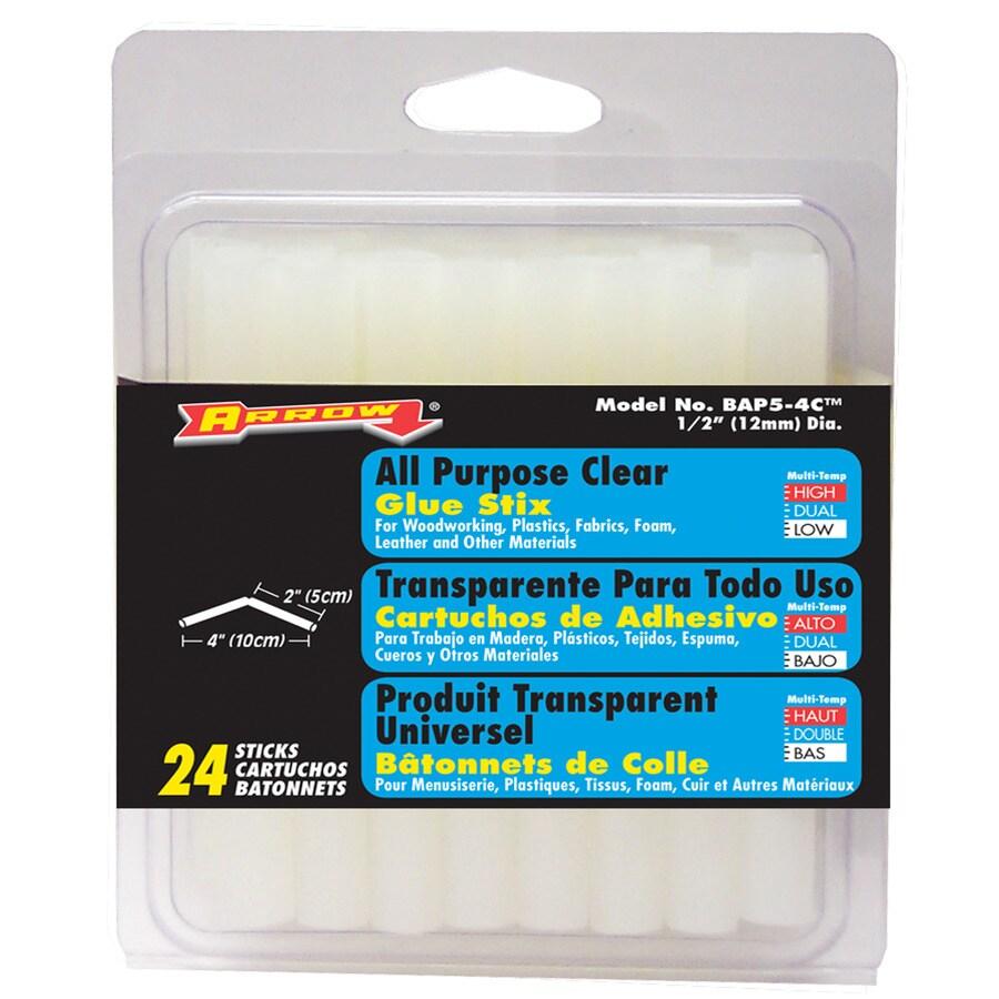 Arrow 24 Piece 0.5-in General Purpose Hot Glue Sticks