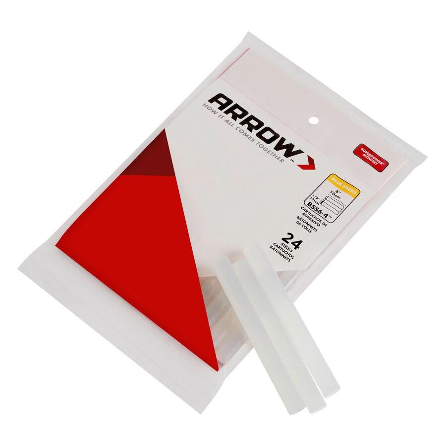 Arrow 24 Piece 0.5-in General Purpose Super Strength Hot Glue Sticks