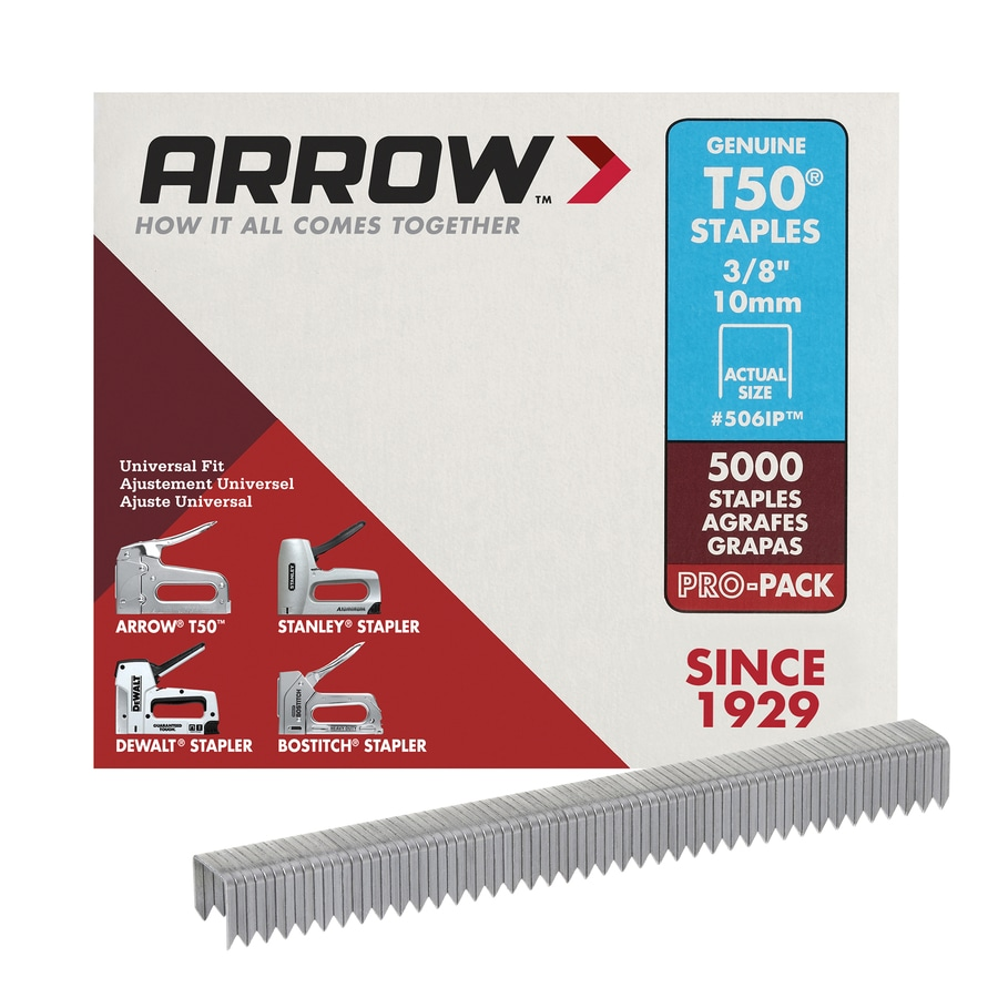 Arrow Fastener 5,000-Count 0.375-in Heavy-Duty Staples