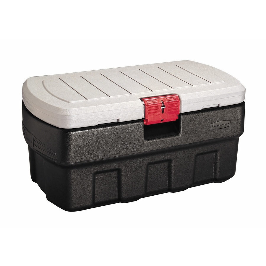 Rubbermaid Actionpacker 35-Gallon Tote with Locking Latch Lid
