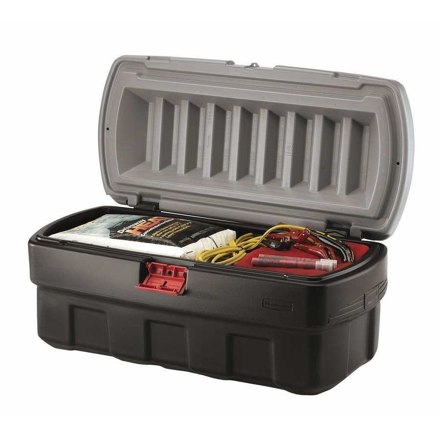 Rubbermaid Actionpacker 48-Gallon Tote with Locking Latch Lid