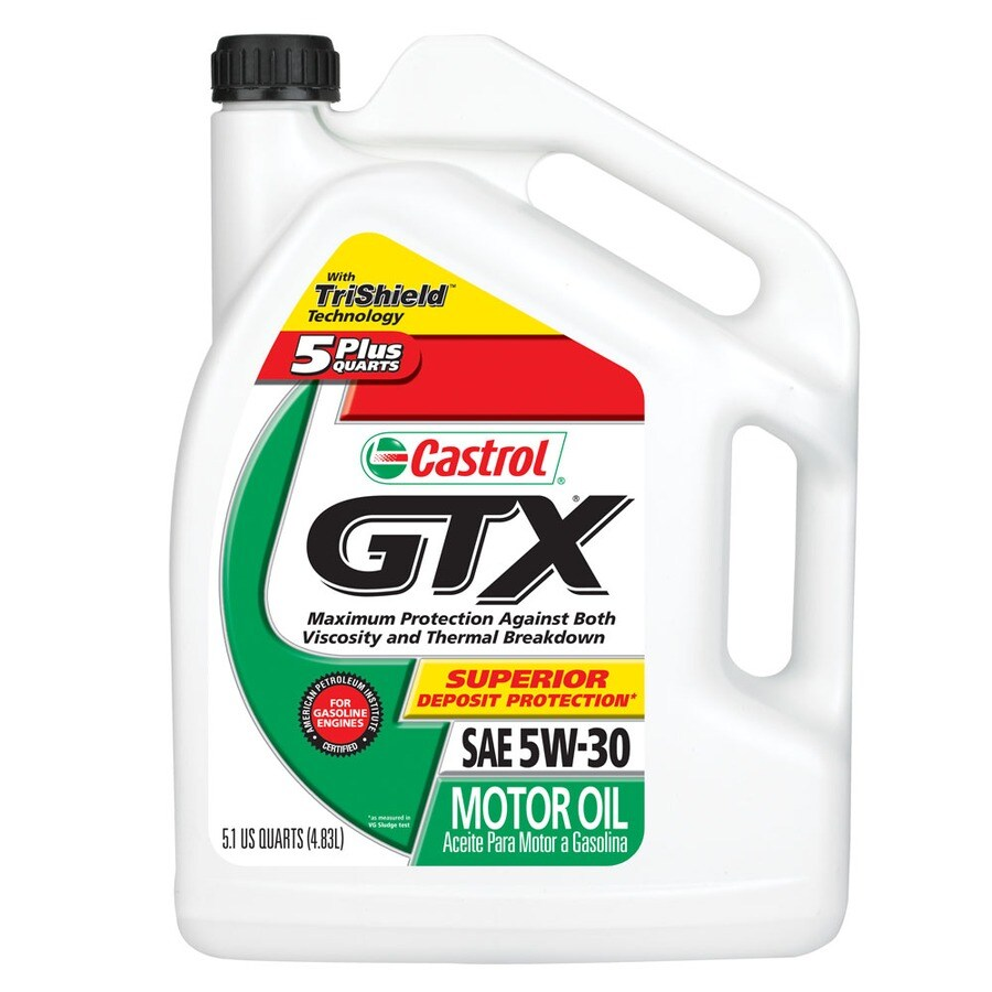 CASTROL 163.2-oz 4-Cycle 5W-30 Conventional Engine Oil
