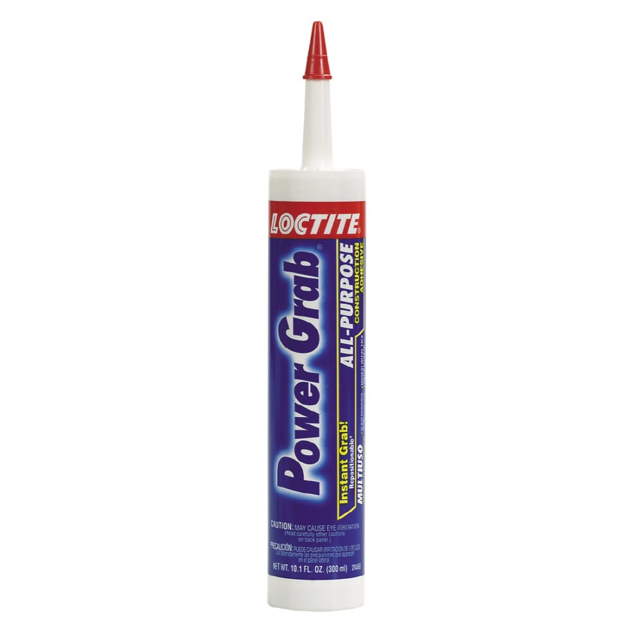 LOCTITE Power Grab All-Purpose White Construction Adhesive