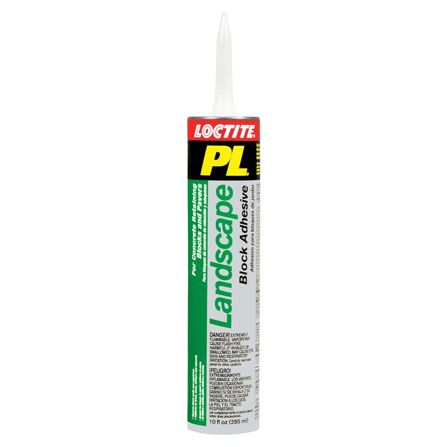 Landscaping Block Glue : Loctite landscape block adhesive at lowes