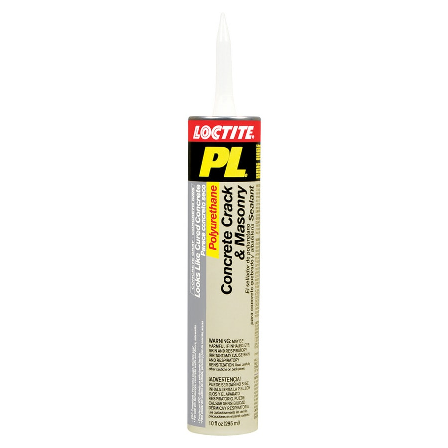 LOCTITE Pl 10-oz Gray Paintable Polyurethane Specialty Caulk