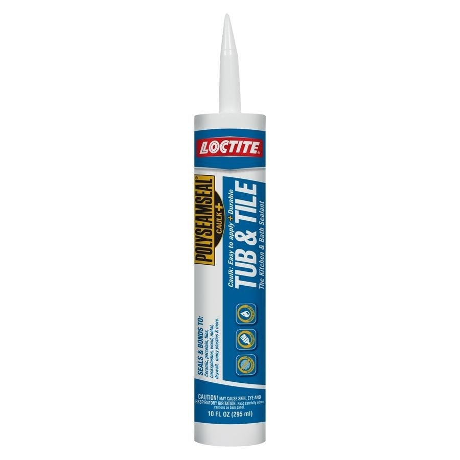 Shop Loctite 10 Oz Clear Paintable Tub And Tile Latex