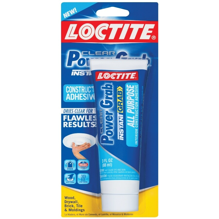 LOCTITE Power Grab All Purpose Clear Adhesive