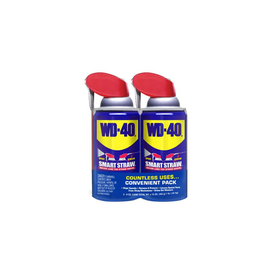 WD-40 2-Pack 8-oz Smart Straw