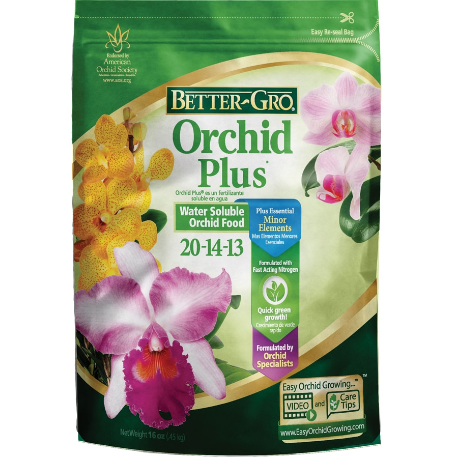 BETTER-GRO Orchid Plus 1-lb Indoor Plant Food (20-14-13)