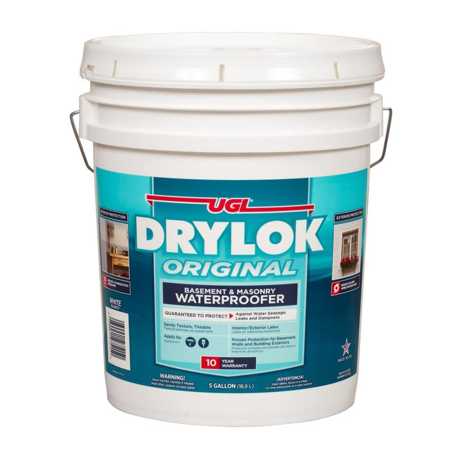UGL DRYLOK Latex-Base Masonry White Waterproofer
