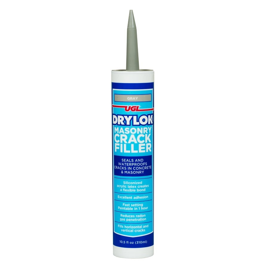 UGL Gray Unsanded Paintable Latex Specialty Caulk