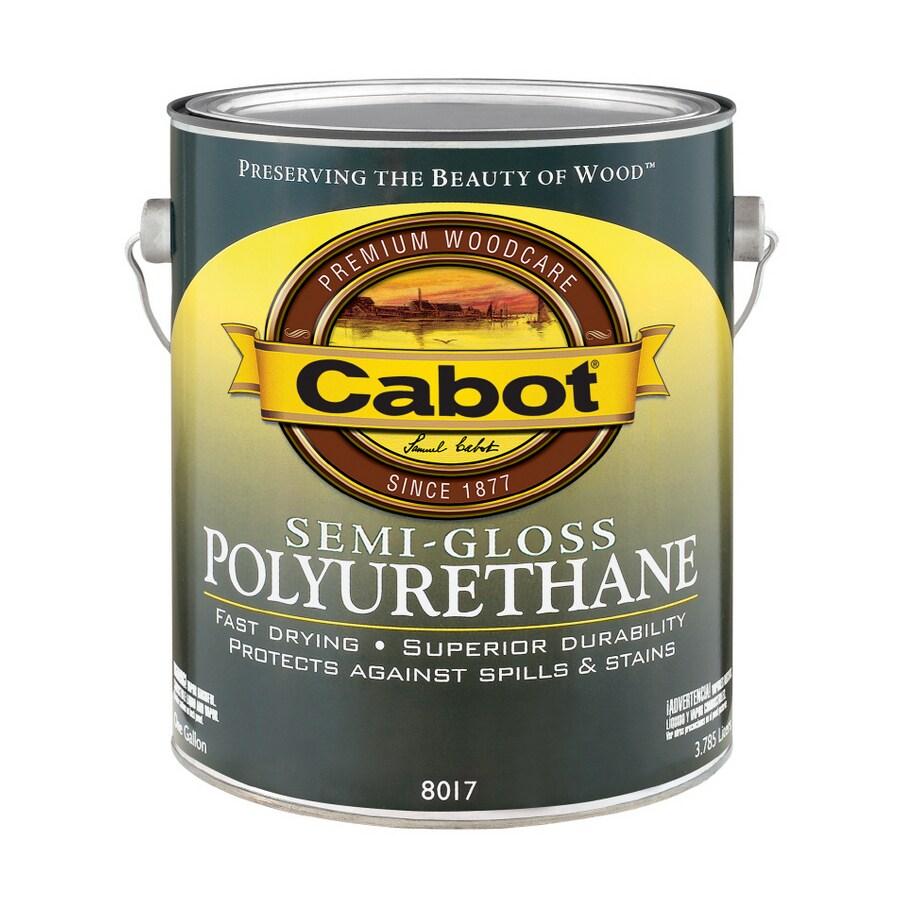 Cabot Gallon Oil Polyurethane Semi-Gloss