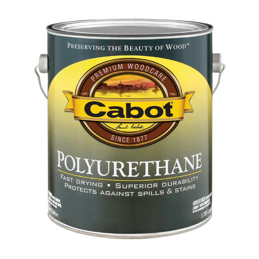 Cabot Gallon Oil Polyurethane Semi-Gloss VOC