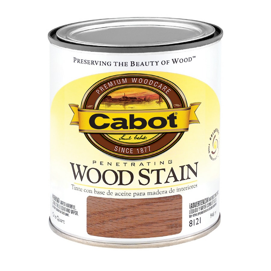 Cabot 1-Quart Dark Walnut Oil Wood Stain