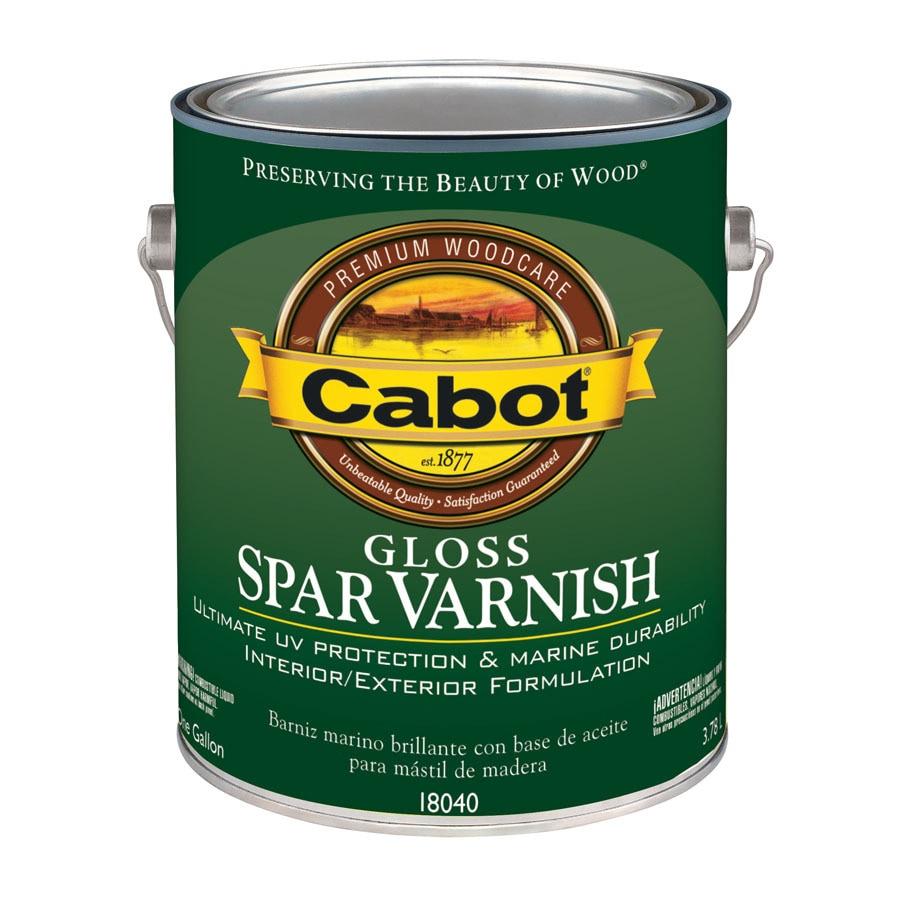 Cabot Gloss Oil-Based 128 fl oz Varnish